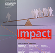 Read the Summer 2016 issue of Impact magazine