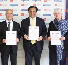 YES BANK pledges £1 million towards the IG Patel Chair